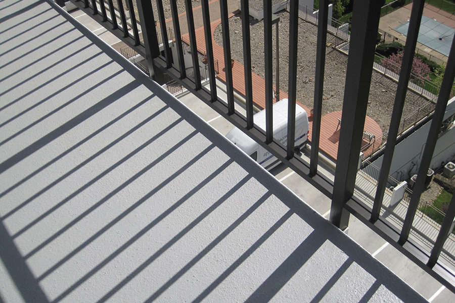 New Kingston House balcony railings, installed by SSRG
