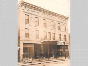 Historic photo of Daniel Boone Hotel in Whitesburg KY