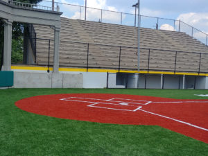 St. Bernard field repaired through Reds Community Fund
