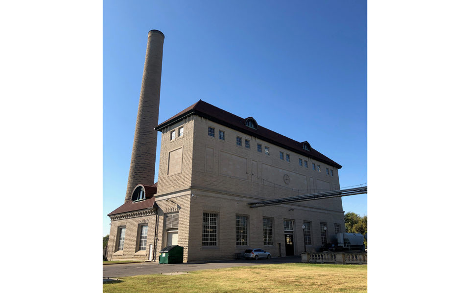 Exterior of Pumping Station No. 3 in Louisville