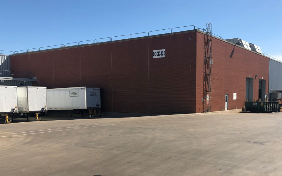 Exterior of Allison Transmission masonry repairs