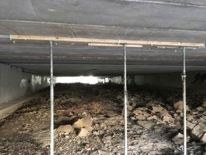 preparing for repairs to bridge near Oxmoor Center
