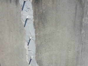 epoxy crack injections at Taylor Creek wastewater treatment plants